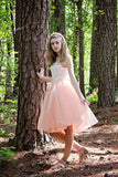 blush pink tulle skirt