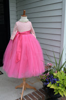 barbie pink tutu skirt
