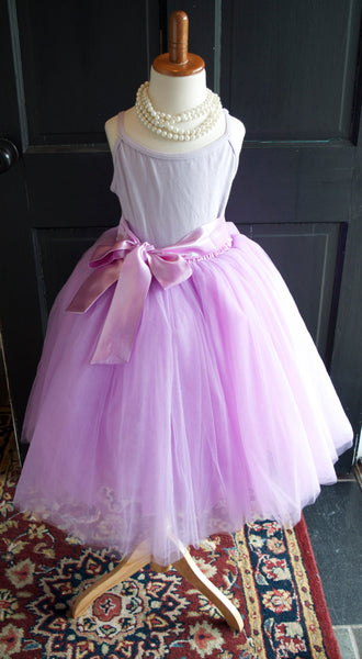 Girls Radiant Orchid Tulle Skirt Tutu - maidenlaneboutique
