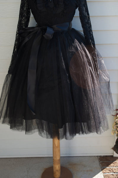 Black Tutu Tulle skirt - maidenlaneboutique