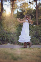 girls cotton sun dress