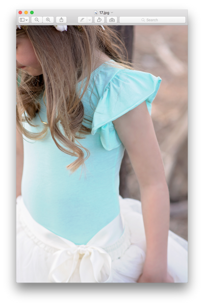 Mint Flutter Sleeve Leotard Ballet Gymnastics Top Shirt - maidenlaneboutique