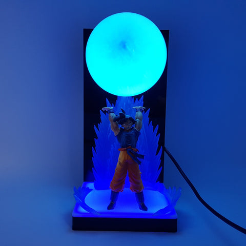 Lampe Dragon Ball Z Goku Blue Genkidama