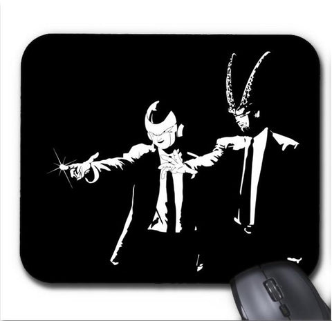Tapis De Souris Dragon Ball Z Cell&Freeza Parodie Pulp Fiction