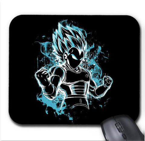 Tapis De Souris Dragon Ball Super Vegeta Super Saiyan Blue