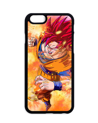 Coque Dragon Ball Super Goku Red God