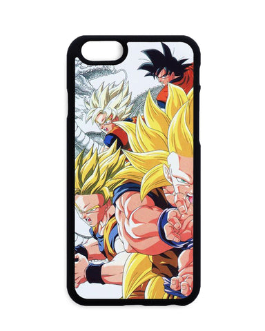 Coque Blanche Dragon Ball Z Goku Forms