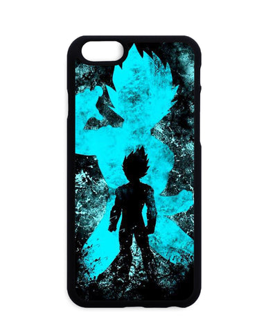 Coque Dragon Ball Super Vegeta SSj God Shadow