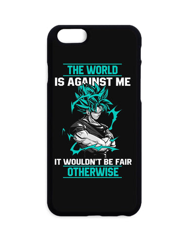 Coque Dragon Ball Super Goku The World Is Against Me