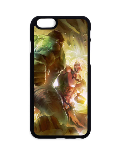 Coque Dragon Ball Z Broly Vs Hulk