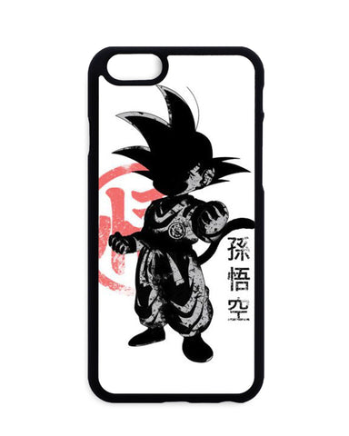 Coque Blanche Dragon Ball Goku Symbôle