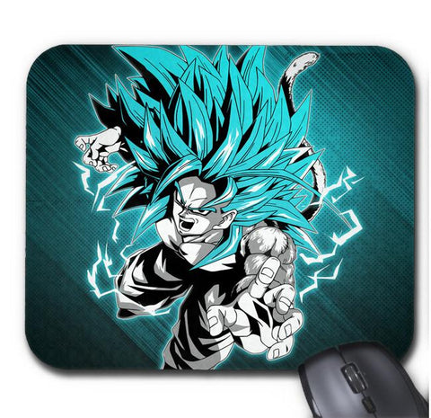 Tapis De Souris Dragon Ball Super Goku Super Saiyan God SS3