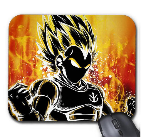 Tapis De Souris Dragon Ball Z Prince Vegeta Super Saiyan