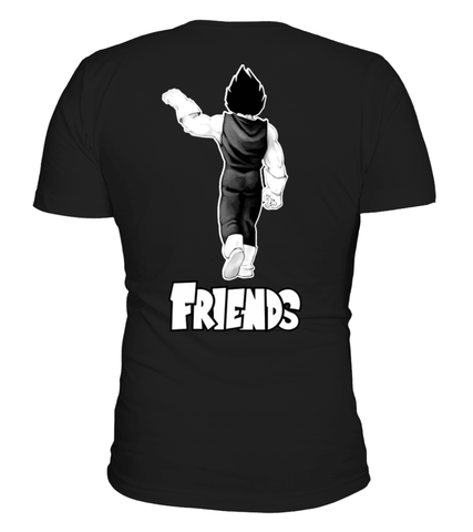 T Shirt Dragon Ball Z Best Friends Vegeta
