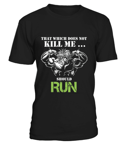 T Shirt dragon ball Z Broly Run