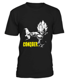 T Shirt Dragon Ball Z Vegeta Conquer