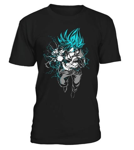 T Shirt dragon ball Super Goku God Kamehameha