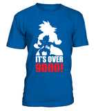 T Shirt dragon ball Z Vegeta It's Over 9000