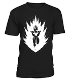 T Shirt dragon ball Z Vegeta Prince Saiyan