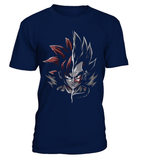 T Shirt dragon ball Z Goku Vs Vegeta