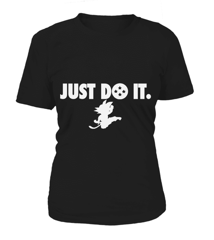 Shirt Femme Dragon ball Goku Just Do It