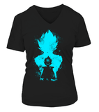 T Shirt Femme Dragon ball Z Vegeta Evolution