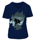 T Shirt Femme Dragon ball Super Goku Vs Freeza Namek
