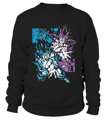 Sweat Classique Dragon Ball Z Vegeta X Goku