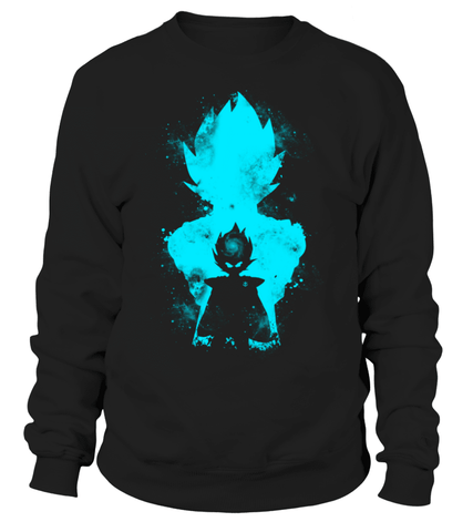 Sweat Classique Dragon Ball Z Vegeta Evolution
