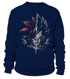 Sweat Classique Dragon Ball Z Goku Vs Vegeta