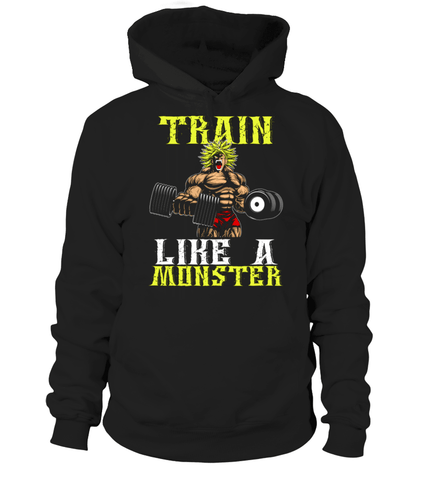Pull à capuche Dragon Ball Z Broly Train Like a Monster