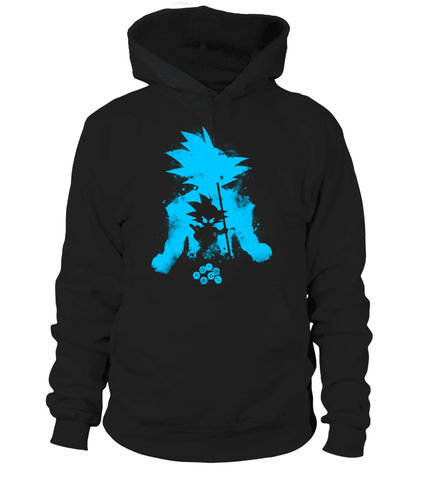 Pull à capuche Dragon Ball Z Goku Path