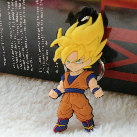 Porte clé Dragon Ball Z Goku Super Saiyan