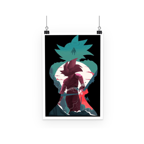Poster Dragon Ball Z Goku Evolution