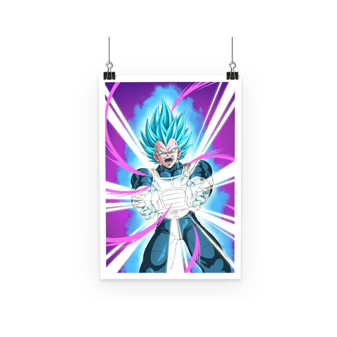 Poster Dragon Ball Super Vegeta Attack