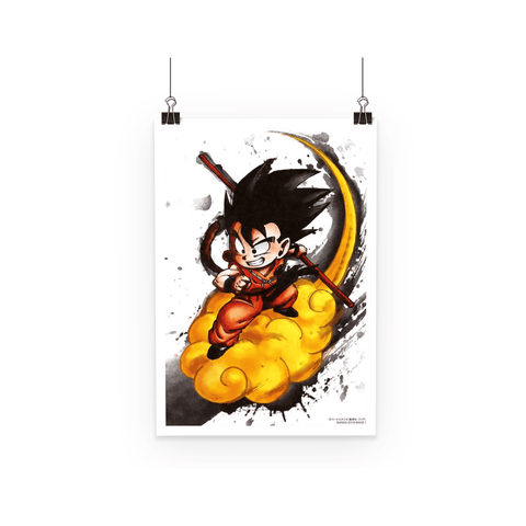 Poster Dragon Ball Goku Kid Kinto