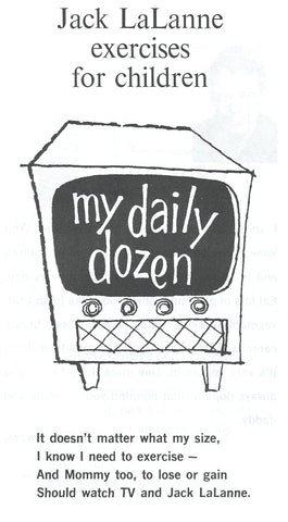 My Daily Dozen- Exercises for Children