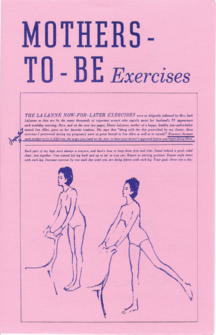 Mothers-To-Be Exercises