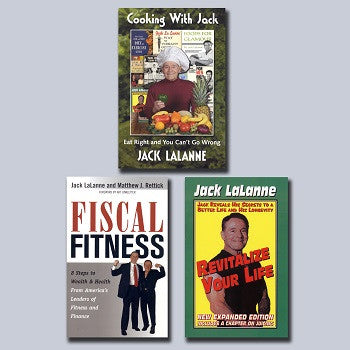 Jack LaLanne Book Bundle