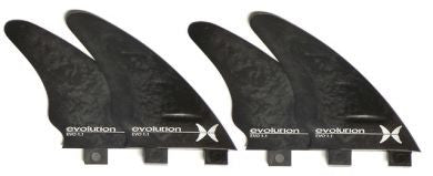 Evolution Quad Fin Set