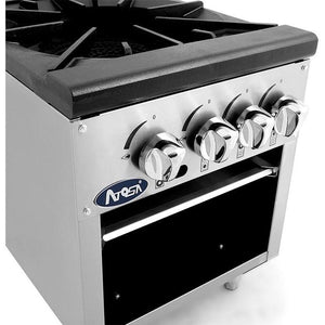 CookRite - 4 Burners, Independent Manual Control - Liquid Propane - Maltese & Co New and Used  restaurant Equipment