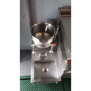 Cleveland- 6 Gallon Countertop Kettle with HandSink - Direct Steam, Used-CL-KDT6-WT23119309-U - Maltese & Co New and Used  restaurant Equipment
