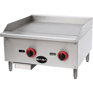 "Saba Air - 24"" Gas Manual Griddle-SB-MG24-8517-N"