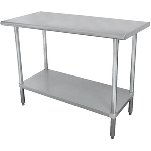 "Stortec - 48""  Stainless Steel Worktable Stand 24"" x 48""- SS-24X48-11116-N"