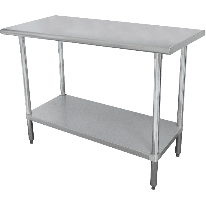 "USED Stortec - 48""  Stainless Steel Worktable Stand 24"" x 48""- SS-24X48-11116-N - Maltese & Co New and Used  restaurant Equipment"