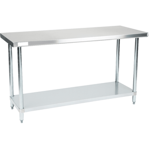 "USED Stortec - 60""  Stainless Steel Worktable Stand 24"" x 60""- SS-24X60-11116-N - Maltese & Co New and Used  restaurant Equipment"