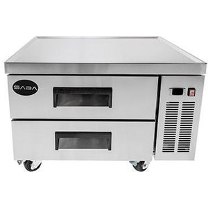 "Saba Air - 36"" (2) Two Drawer Chef Base Cooler-SB-SCB36-8117-N"