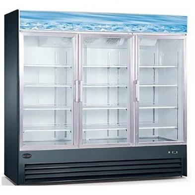 Saba Air - (3) Three Glass Swing Door Freezer-SB-SGDM72F-72417-N - Maltese & Co New and Used  restaurant Equipment