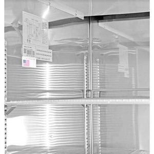 Saba Air - Two Glass Door Reach-In Refrigerator - New- SB-S47RG-9117713-N
