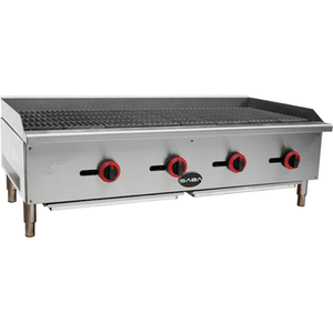 "Saba Air - 48"" Gas Radiant Broiler-SB-CB48-8417-N"